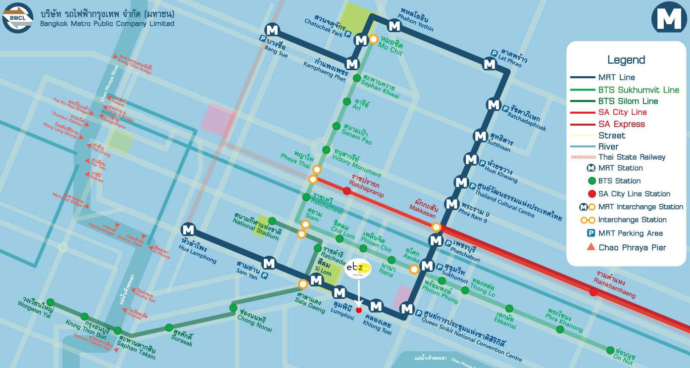 ETZ Hostel Map
